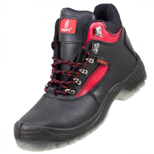 Обувь 102 S3 TPU с металлическим носком и антипрокольной подошвой. URGENT