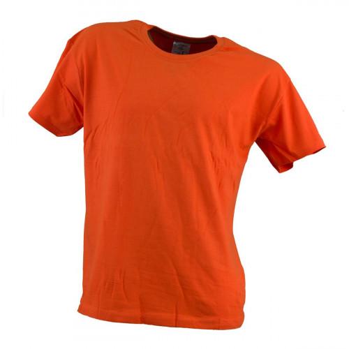 Футболка оранжевого цвета 100% хлопок.Urgent