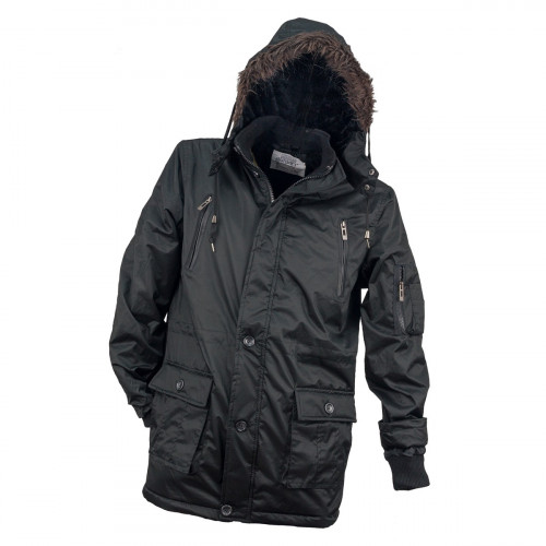 Куртка демисезонная  URG-1720 утепленная мехом.Urgent