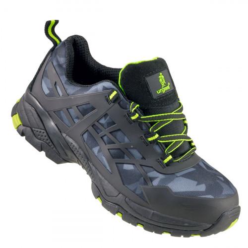 Кроссовки 238 S1 с металлическим носком, черного цвета. URGENT