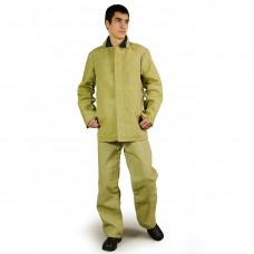Базовый защитный огнестойкий костюм из брезента (размер 52-54)