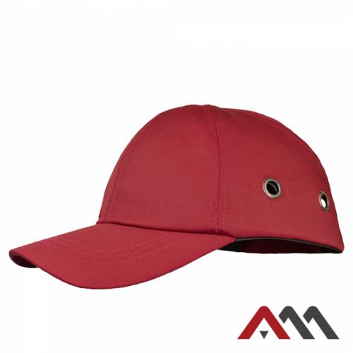 Промышленная легкая каска BumpCap, красного цвета. ARTMAS