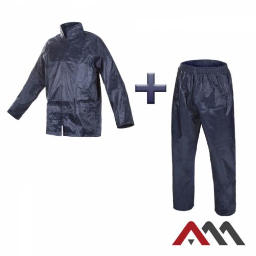 Влагозащитный костюм KPL синего цвета. ARTMAS