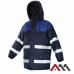 Куртка FLASH WIN NAVY BLUE со светоотражающими полосами, синего цвета. ARTMAS (размер L)
