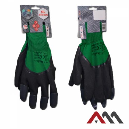 Садовые перчатки с когтями ARTMAS GL CLAWS
