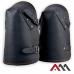 Наколенники кожаные NKS на ремнях.ARTMAS