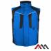 Жилет рабочий ART-TOP BLUE из водостойкой полиэфирной ткани Oxford 450D . ARTMAS (размер ХL)