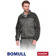 Куртка рабочая REIS BOMULL-J SDS из хлопка, серого цвета