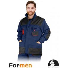 Куртка рабочая LEBBER AND HOLLMAN LH-FMN-J GBC сине-красная