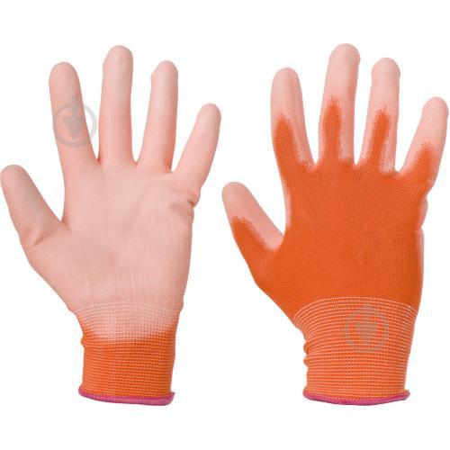 Перчатки ARTMAS RnyPu Orange с полиуретановым покрытием