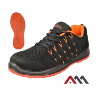 Кроссовки BTEX S1P с металлическим носком и антипрокольной стелькой.ARTMAS