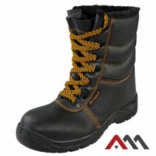 Защитные зимние ботинки BWPuOC, черного цвета. ARTMAS