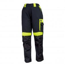 Брюки рабочие URGENT URG-Y spodnie do pasa черно-зеленого цвета