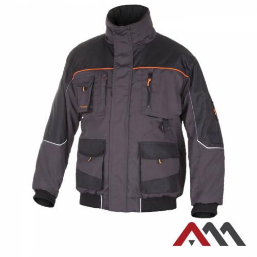 Куртка рабочая зимняя KURTKA CLASSIC WIN short черного цвета. ARTMAS