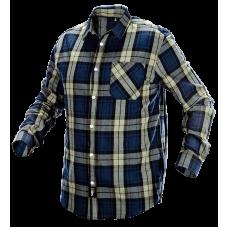 Фланелевая рабочая рубашка  81-541 100% хлопок. NEO TOOLS