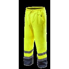 Сигнальные водостойкие рабочие брюки 81770, желтого цвета. NEO TOOLS