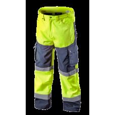 Сигнальные рабочие брюки NEO TOOLS 81750