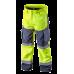 Сигнальные рабочие брюки 81750 softshell, желтого цвета. NEO TOOLS