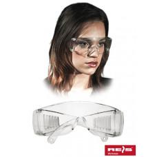 Противоосколочные защитные очки GOG-ICE, прозрачного цвета. REIS