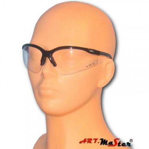 Противоосколочные защитные очки B306p с прозрачной линзой. ARTMAS