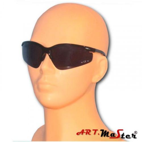 Противоосколочные защитные очки B306s с затемненной линзой. ARTMAS