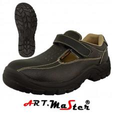Защитные сандалии BSSO1B, чероного цвета. ARTMAS