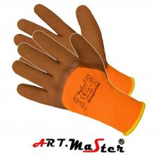 Утепленные рабочие перчатки RdragO Foam kat. II покрытые латексом. ARTMAS