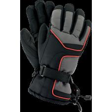 Перчатки защитные RSKIRBIS SB XL утепленные флисом, черно-серого цвета. REIS