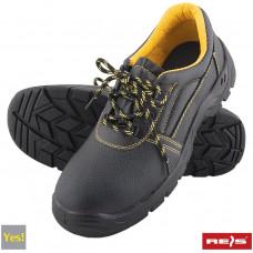 Защитная обувь BRYES-P-OB BY со стальными носками, черного цвета. REIS