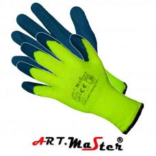 Утепленные рабочие перчатки Rdrag7Win kat. II покрытые латексом. ARTMAS