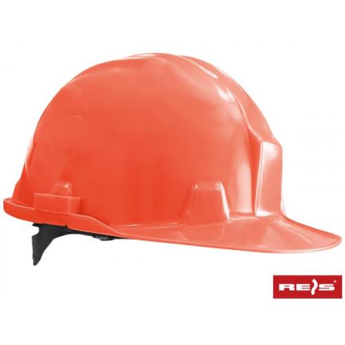 Защитная каска из полипропилена (РР) высокой плотности М215-ORANGE. REIS