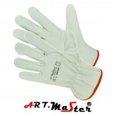 Перчатки DRIVER защитные, изготовленные из высококачественной козьей кожи. ARTMAS