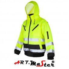 Куртка рабочая светоотражающая ARTMAS LASH BI Yellow