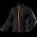 Блуза 81500 из высококачественного флиса, черно-оранжевого цвета. NEO TOOLS